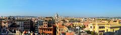 Roma - Panorama da Trinita' dei Monti