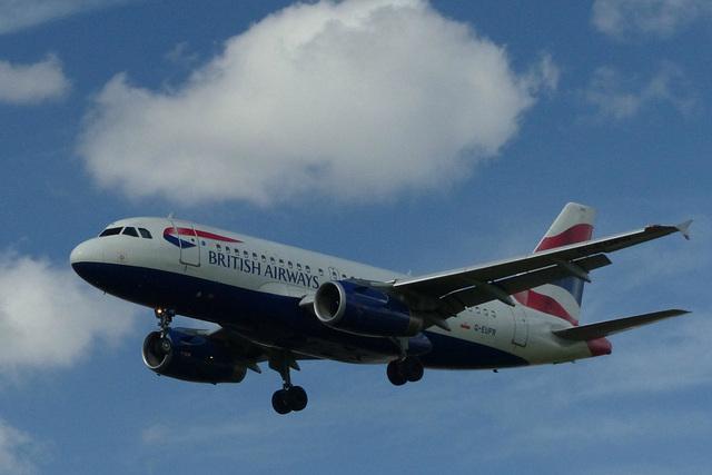 G-EUPR approaching Heathrow - 6 June 2015
