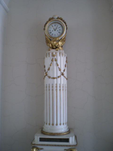 Clock in the Horseback Guards' Room.