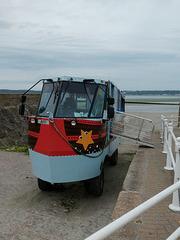 Jersey Heritage Trust amphibious bus - 4 Aug 2019 (P1030572)