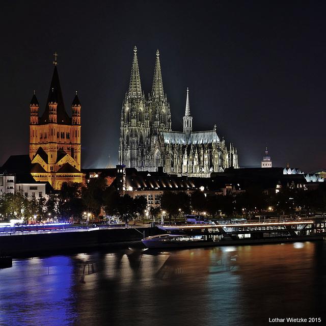 Groß St. Martin und Kölner Dom  - PiP