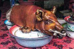 Bali cuisine Babi Guling