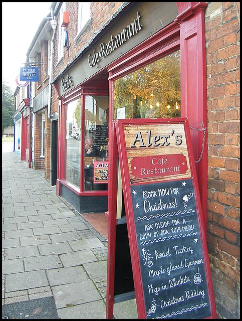 Alex's for Christmas