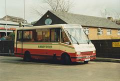 Rossendale Transport 63 (F63 ARN) in Rochdale bus station – 15 Apr 1989 (259-19)