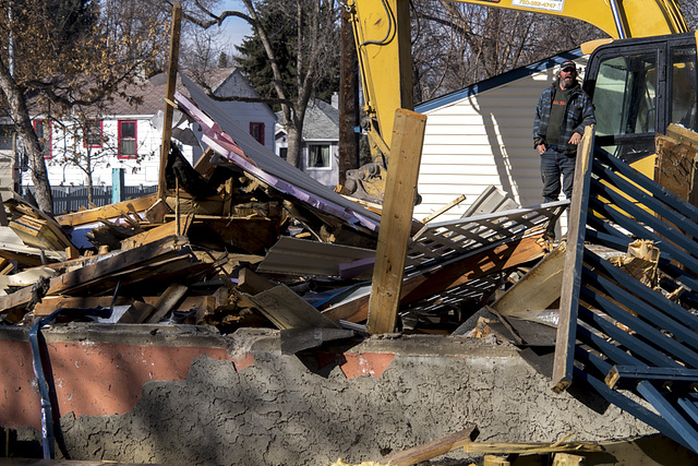 Quick Work Razing A 60 Year Old Home