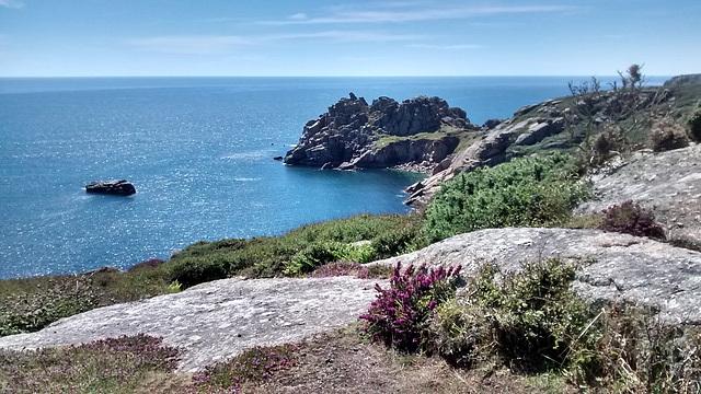 Cornish Coast near Logan Rock