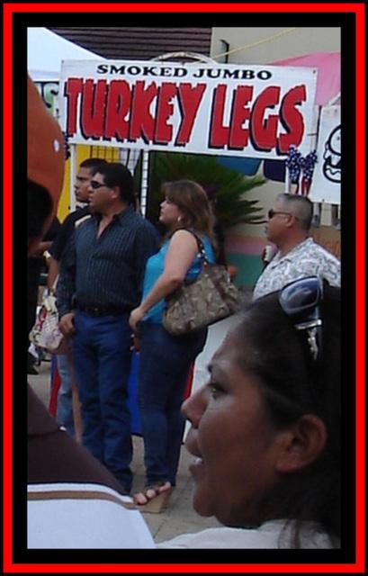 Turkey legs artwork