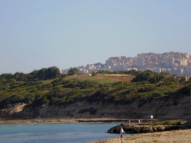 A view to Agrigento.