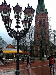 Elmshorn, Blick zum Alten Markt  2014