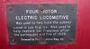 Four Motor Electric Locomotive (2647)