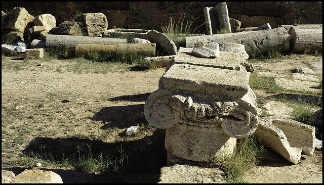 Capital remains