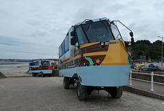 Jersey Heritage Trust amphibious buses - 4 Aug 2019 (P1030565)