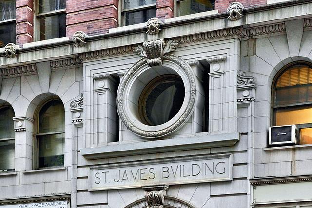 The Saint James Building – Broadway at 26th Street, New York, New York
