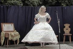 """Historia moda prezentiĝo -dum la urba solenajo en Svitavy """"Pilgrimo al Sankta Egidio"""""""