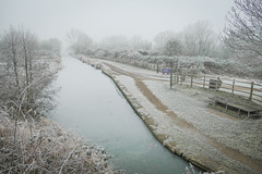 Chesterfield canal... Staveley.. 31st and the 10th. Jan.