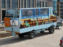 Jersey Heritage Trust amphibious bus - 4 Aug 2019 (P1030522)