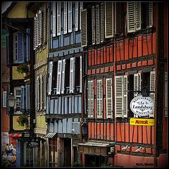 rue du Dr Sultzer à BARR, Alsace... France