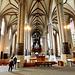 Erfurter Dom. Der jüngere Teil mit Altar und Hauptorgel. ©UdoSm