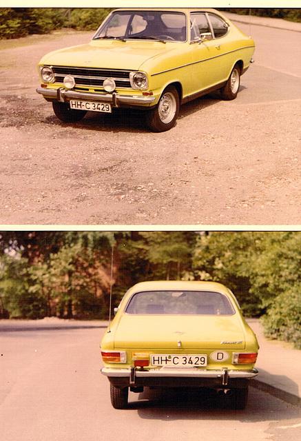Opel Kadett B LS Coupé 1974