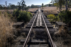 Abandoned rail.