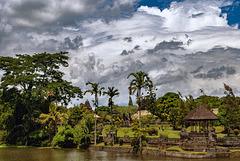 In the garden of Taman Ayun