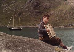 Skye, Loch Scavaig. Professor Norman Davies