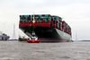 Containerriese CSCL INDIAN OCEAN