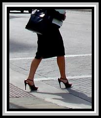 Lady Soledad in high heels  (Artwork)