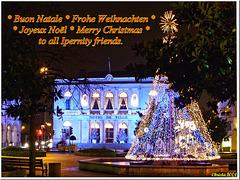 La mairie en habits de Noël