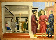 Urbino 2017 – Palazzo Ducale – Flagellation of Christ