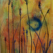 Grasses. Mixed Media