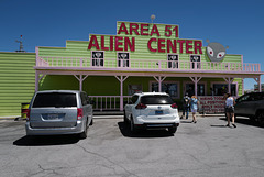 Area 51 but no aliens there except...us!!!!