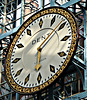 St Pancras Station clock