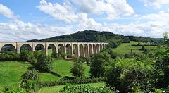 Viaduc de Mussy sous Dun (Bourgogne)