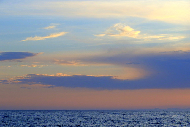 Sunset over the San Juans