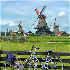 # 4 - bicycles and Dutch mills fixed torque in Zaandam - (447)