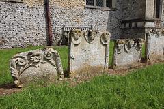 Little Saxham Churchyard, Suffolk