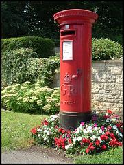 floral post box