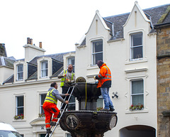 St Andrews, Fixing the Fountain