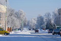 Сонячний зимовий ранок/Солнечное зимнее утро/Winter sunny morning