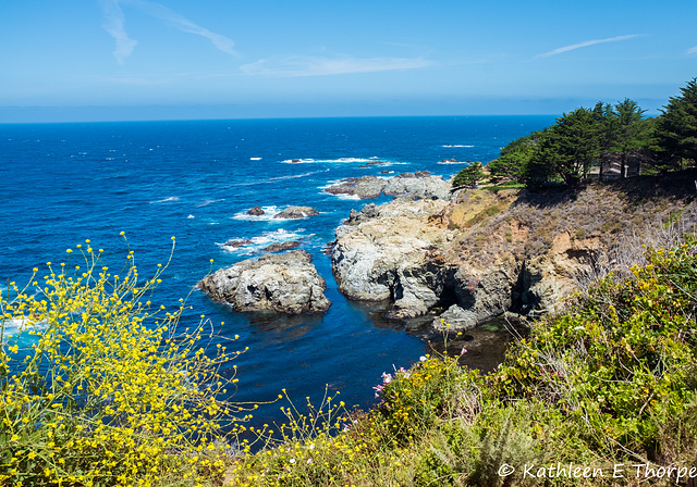 Carmel, CA - Drive Along Big Sur - Pacific Ocean View 001