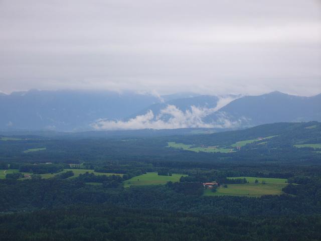 Blick vom Hohenpeißenberg
