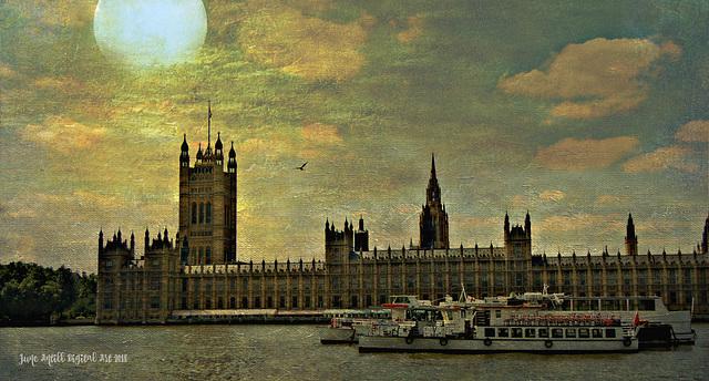 Twilight at Parliament