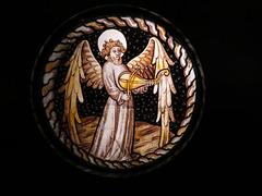 angel musician glass
