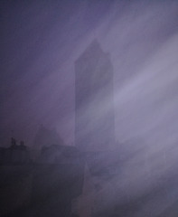 Golden Tower Fog