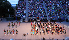 Opening ceremony of The Royal Edinburgh Military Tattoo  ~ 2018