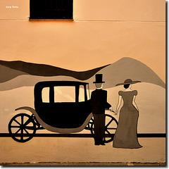 """Graffitis Vintage"" - Sant Cugat - Barcelona"