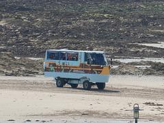 Jersey Heritage Trust amphibious bus - 3 Aug 2019 (P1030436)