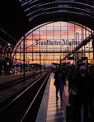 Frankfurt Railway Sky