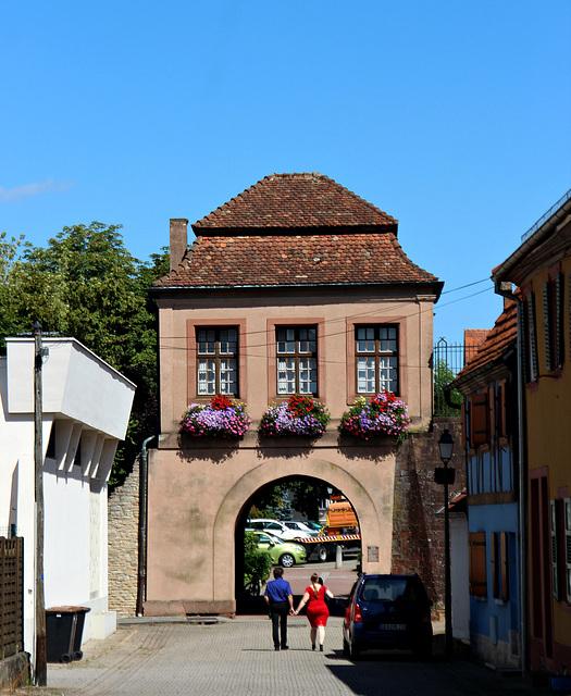 Landauer Tor in Lauterbourg